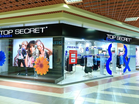 видеореклама в магазине одежды